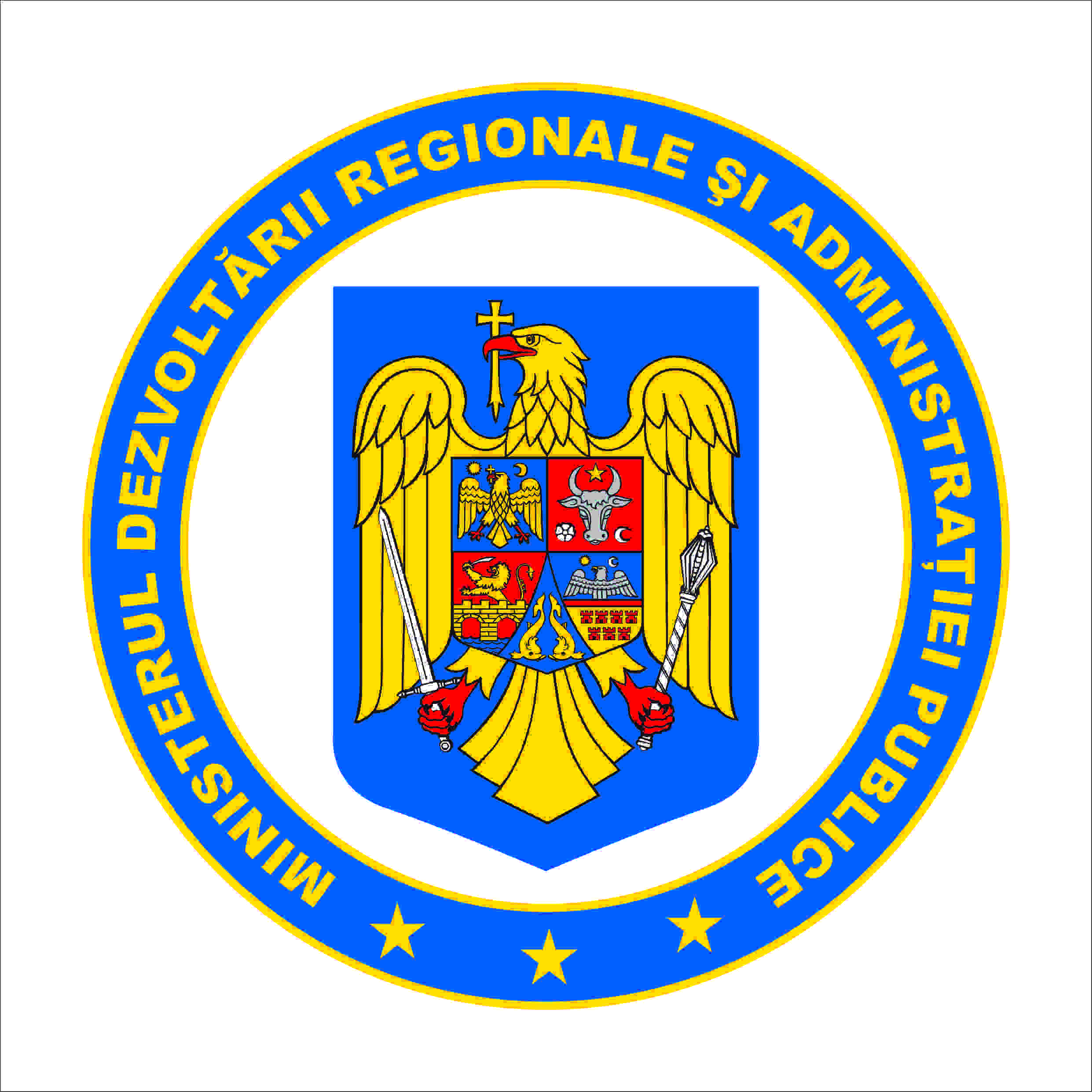 Ministry of Regional Development and Public Administration logo